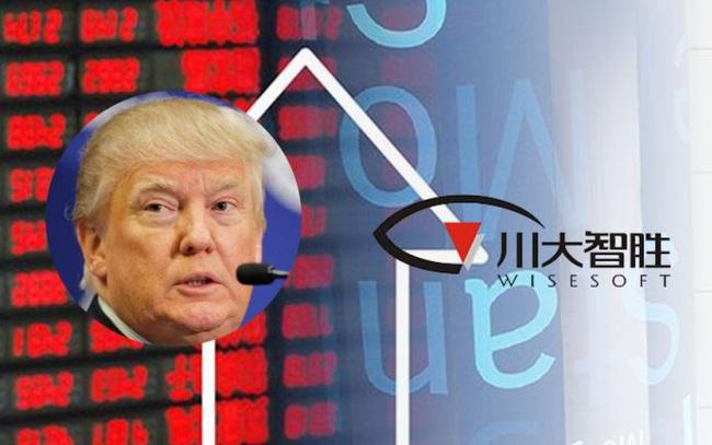 """Cổ phiếu """"Trump thắng lớn"""" tăng vọt trên sàn Thượng Hải"""