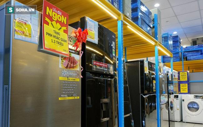 Xả hàng cuối mùa, tủ lạnh dung tích trên 600 lít giảm giá thảm
