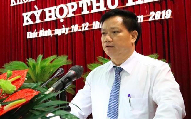 Giới thiệu ông Nguyễn Khắc Thận để bầu làm Chủ tịch UBND tỉnh Thái Bình