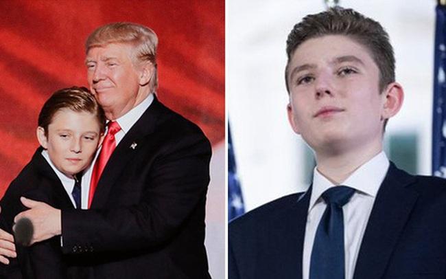 Từ cậu bé đầu tiên chuyển đến sống ở Nhà Trắng, trong 4 năm nhiệm kỳ của bố, Barron Trump đã thu hút sự chú ý của thế giới như thế nào?