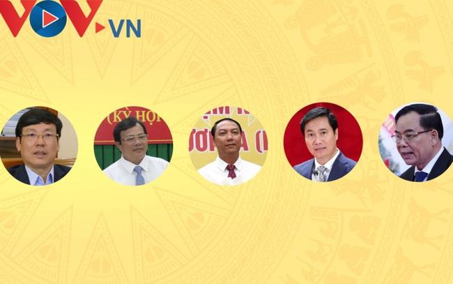 Chân dung 5 Chủ tịch UBND tỉnh được bầu trong tuần