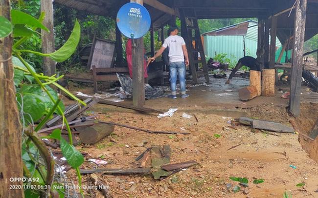 """Sạt lở gần như """"xóa sổ"""" thêm một ngôi làng ở Trà Leng"""