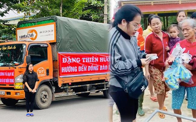 """Người vợ giấu chồng ủng hộ 1,5 tỷ giúp đỡ bà con miền Trung: """"Mình phá sổ tiết kiệm đi mua đồ đạc trong 1 ngày, chuẩn bị rồi đi luôn"""""""