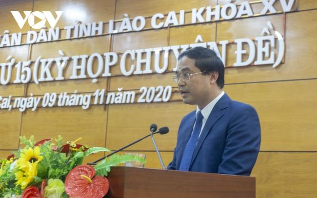 Lào Cai có tân Chủ tịch UBND tỉnh