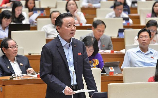Bộ trưởng TN-MT Trần Hồng Hà nói về dự án lấn biển Cần Giờ