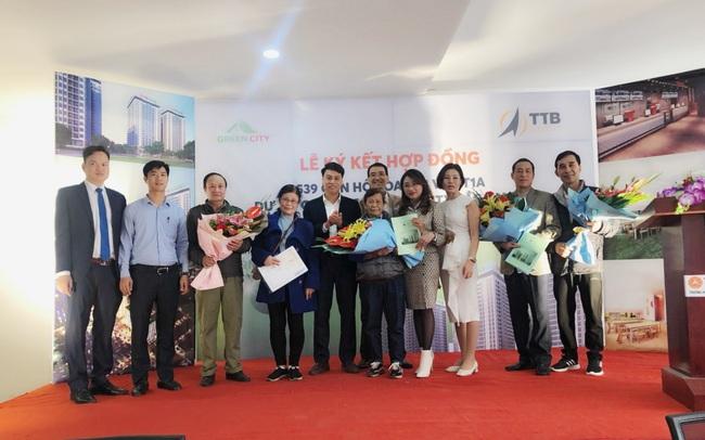 Thêm một tòa tái định cư 500 căn hộ tái định cư tại Bắc Giang được bàn giao cho cư dân