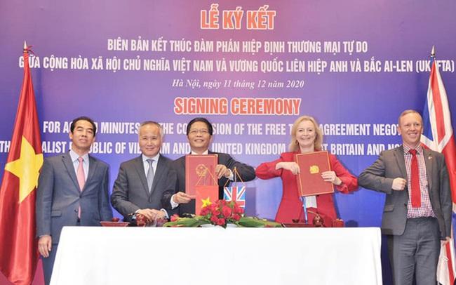 Việt Nam - Vương quốc Anh kết thúc đàm phán hiệp định thương mại song phương