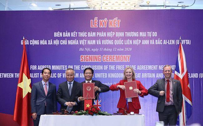 Hơn 99% dòng thuế xuất khẩu sang Anh sẽ được xóa bỏ nhờ FTA Việt Nam - Anh