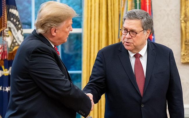 Sau nhiều tuần mâu thuẫn công khai với Tổng thống Trump, Bộ trưởng Tư pháp William Barr từ chức