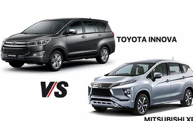 Toyota Innova thoái vị, Mitsubishi Xpander lên ngôi
