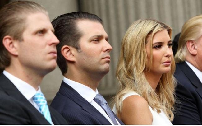 Tổng thống Trump tìm cách ân xá đặc biệt cho 3 người con