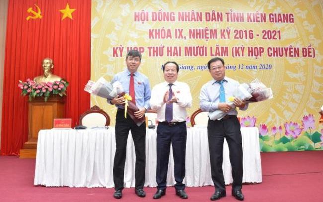 Ông Nguyễn Lưu Trung làm Phó Chủ tịch UBND tỉnh Kiên Giang