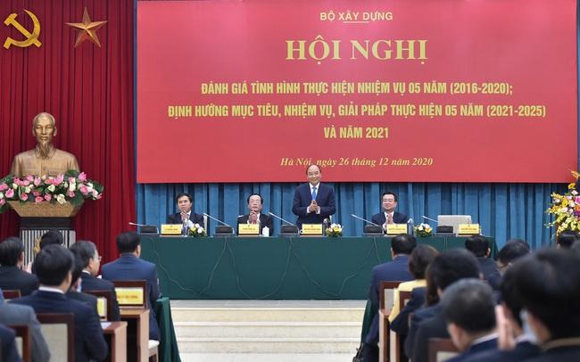 Thủ tướng Nguyễn Xuân Phúc: Bất chấp đại dịch, Việt Nam thuộc nhóm quốc gia có ngành xây dựng phát triển mạnh nhất khu vực châu Á