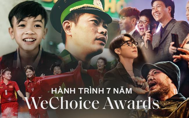 Hành trình 7 năm của WeChoice Awards: Dấu ấn diệu kỳ của tình yêu, tình người và những niềm tự hào mang tên Việt Nam