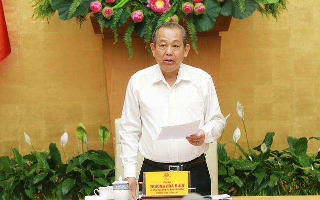 Phó Thủ tướng Trương Hòa Bình: 12 chỉ tiêu đặt ra cho năm 2021 rất nặng nề