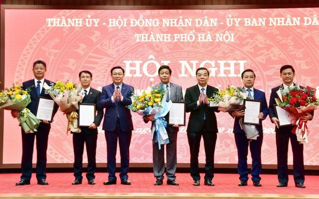Hà Nội phân công công tác Chủ tịch và 6 Phó Chủ tịch UBND thành phố