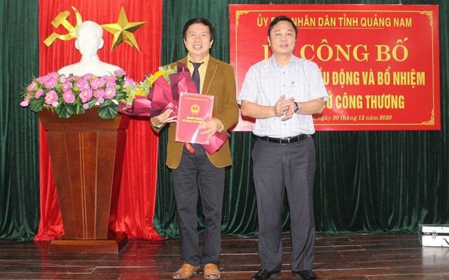 Quảng Nam có tân Giám đốc Sở Công Thương