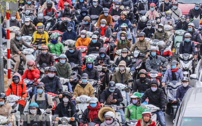 'Ma trận' ùn tắc giao thông ở Hà Nội ngày cuối năm