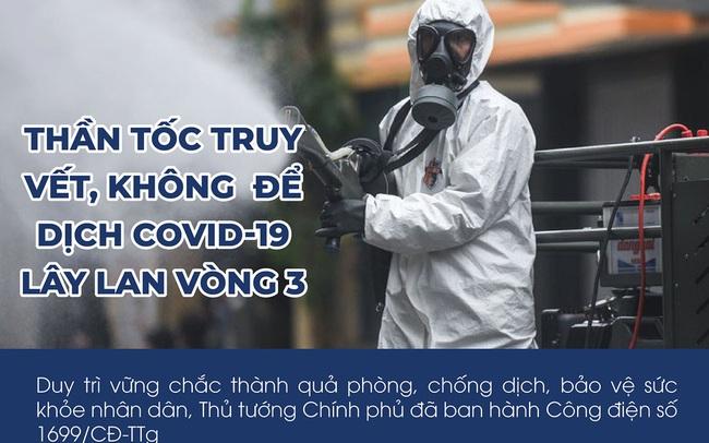 Thần tốc truy vết, không để dịch COVID-19 lây lan vòng 3