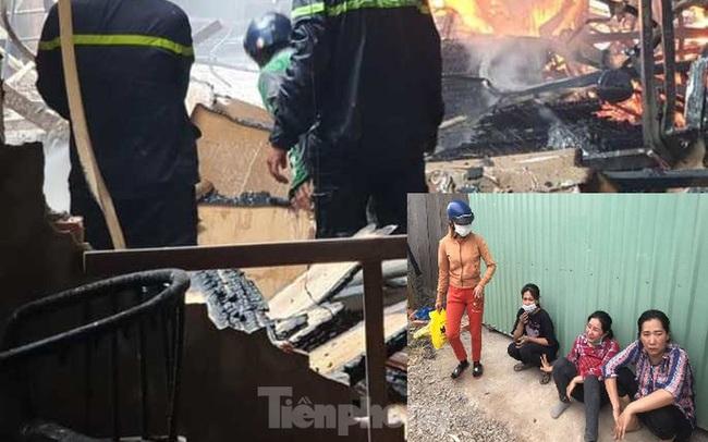 Công nhân bật khóc, ôm đồ tháo chạy khi lửa bao trùm 2 công ty