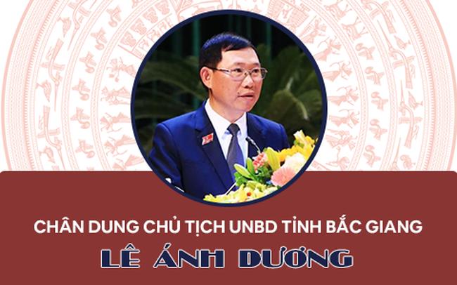 Infographics: Chân dung Chủ tịch UBND tỉnh Bắc Giang Lê Ánh Dương