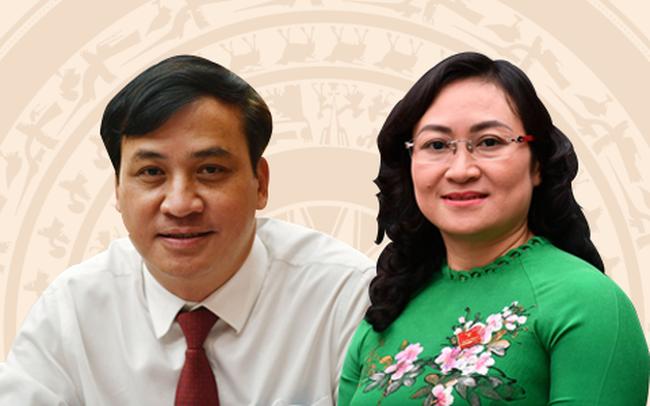 Chân dung hai tân Phó Chủ tịch UBND TPHCM