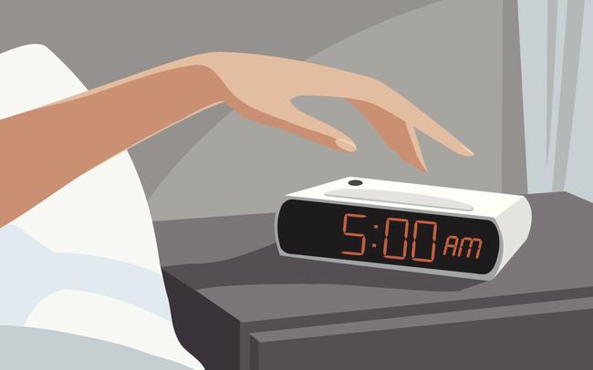 """Thành công không đến với những kẻ luôn muốn """"ngủ nướng: Người dậy sớm để hưởng đủ lợi ích về sức khỏe đến công việc, tâm trí không vội vã, tỉnh táo trong mọi quyết định"""