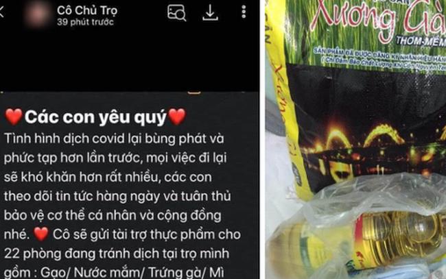 Chủ trọ có tâm nhất Đà Nẵng: Gửi tin nhắn động viên 22 phòng trọ, tặng kèm gạo, dầu ăn, khẩu trang...