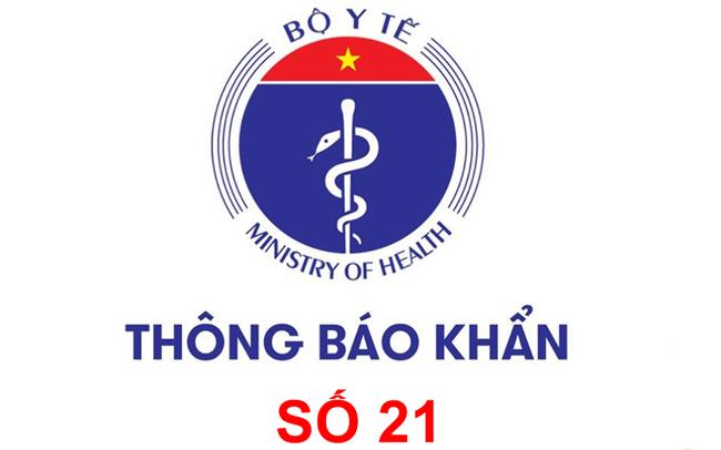 Khẩn: Bộ Y tế tìm người từng đến 9 địa điểm và 2 chuyến bay từ Quảng Nam, Đà Nẵng đến TPHCM