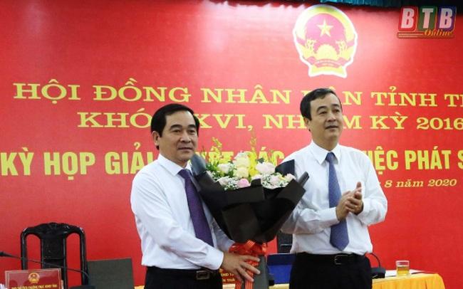 Phó Bí thư Thường trực được bầu giữ chức Chủ tịch HĐND tỉnh