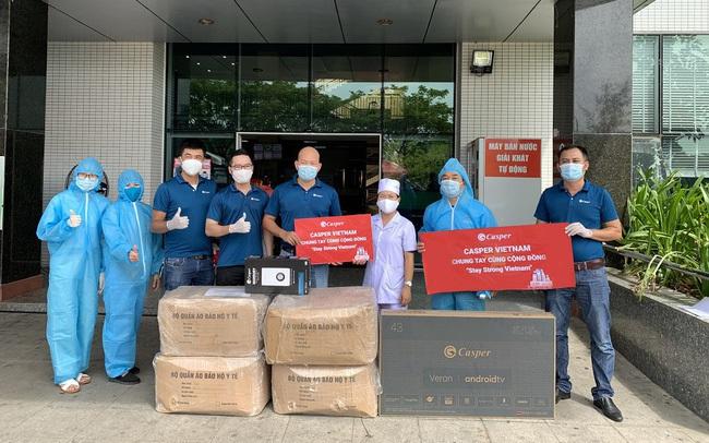 """Casper Vietnam trao tặng hơn 1.000 bộ đồ bảo hộ y tế """"tiếp lửa"""" y bác sĩ Đà Nẵng chống dịch"""