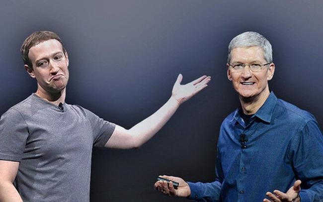 """Bị Apple ngó lơ đề nghị giảm 'thuế' 30%, Facebook tức giận tuyên bố Táo khuyết đang """"ăn quá dày"""""""