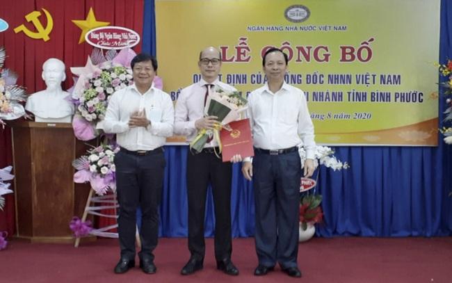 Phó Vụ Trưởng Vụ ổn định tiền tệ về làm giám đốc NHNN chi nhánh Bình Phước