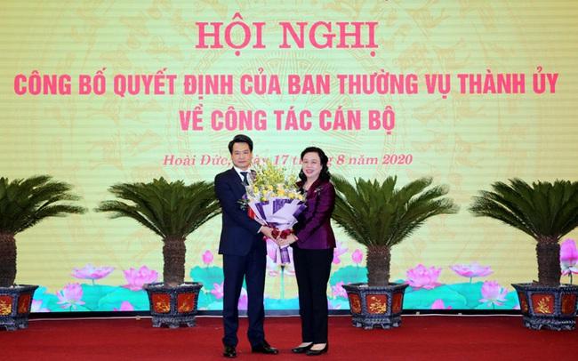 Bí thư Hoài Đức được bổ nhiệm làm Trưởng Ban Nội chính thành ủy Hà Nội