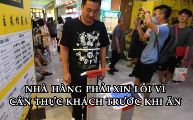Nhà hàng Trung Quốc nhận hàng chục triệu lượt 'phẫn nộ' khi yêu cầu thực khách cân trọng lượng trước khi gọi món