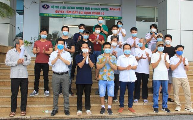 Thêm 19 bệnh nhân COVID-19 được công bố khỏi bệnh