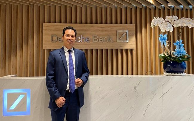Cựu CEO MSB Huỳnh Bửu Quang làm Quyền Tổng giám đốc Deutsche Bank Việt Nam