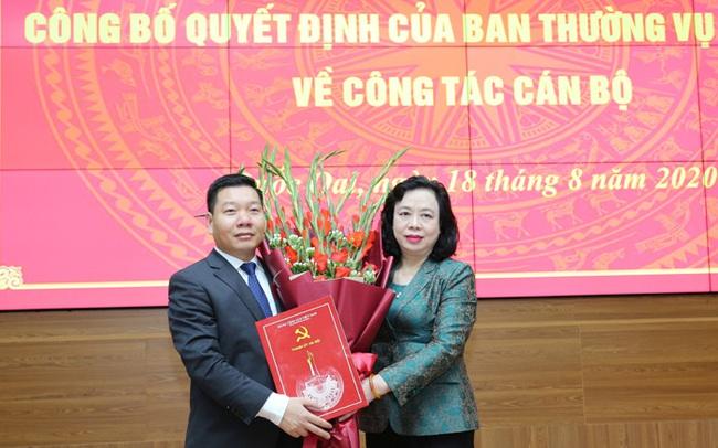 Ông Nguyễn Trường Sơn được điều động làm Phó Bí thư Huyện ủy Quốc Oai