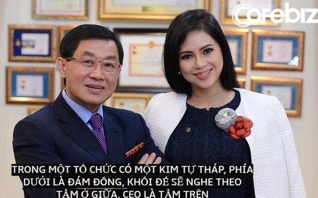 Cách dùng người đặc biệt của 'vua hàng hiệu' Johnathan Hạnh Nguyễn: Nguyên tắc kim tự tháp, lo xe hơi xịn, cấp nhà cho 'những người chóp bu'