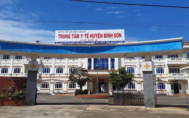 Hành trình di chuyển và tiếp xúc của bệnh nhân số 590 ở Quảng Ngãi