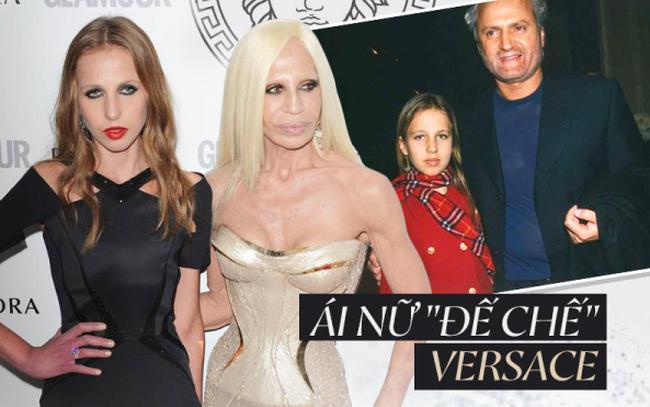 """Cuộc sống như địa ngục của Ái nữ """"đế chế"""" Versace: Thừa kế công ty khi mới 11 tuổi, tài sản hàng trăm triệu đô nhưng không có lấy một ngày vui vẻ"""
