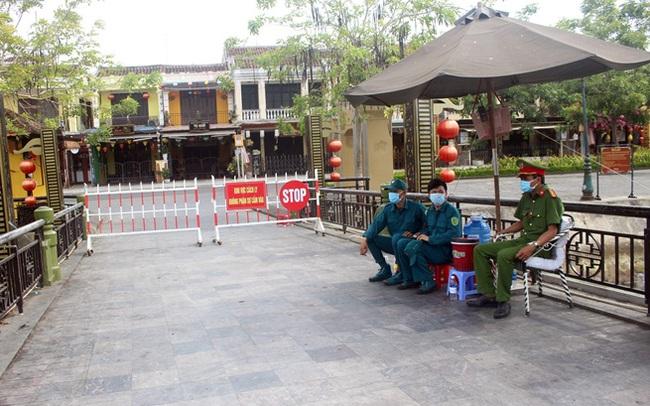 Quảng Nam phong tỏa khu dân cư có nguy cơ lây nhiễm COVID-19 từ 0h ngày 3/8