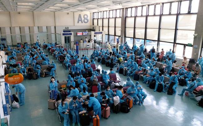 Hơn 520 công dân Việt Nam từ Đài Loan, Hàn Quốc về nước an toàn