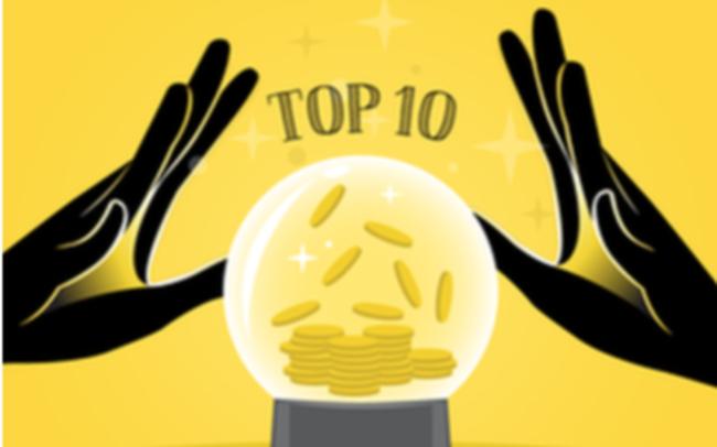 Top 10 cổ phiếu tăng/giảm mạnh nhất tuần: Nhóm vốn hóa vừa và nhỏ hút dòng tiền