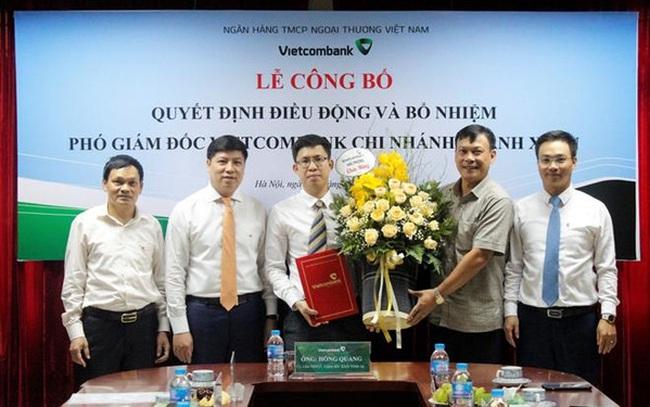 Vietcombank bổ nhiệm phó giám đốc các chi nhánh tại Hà Nội