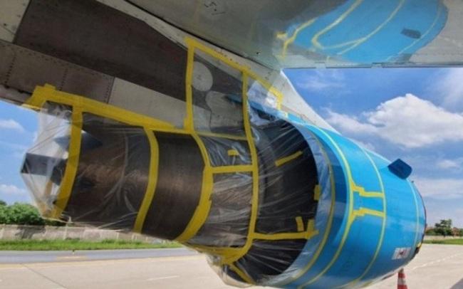 Tàu bay trăm tỷ nằm sân phải bọc nilong dài hạn, hàng không thêm chi phí