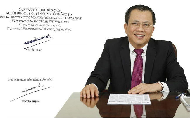 Thu về hơn 5.000 tỷ từ bán Thipha Cable cho người Thái, ông Võ Tấn Thịnh vừa chi cả trăm tỷ mua cổ phiếu Long Hậu (LHG)