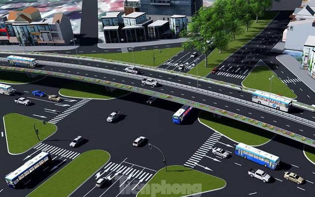 Hình ảnh thiết kế cầu vượt nút giao La Thành - Láng Hạ