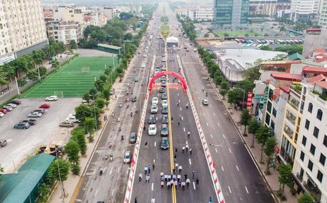Cận cảnh cầu vượt hơn 500 tỉ đồng mới thông xe