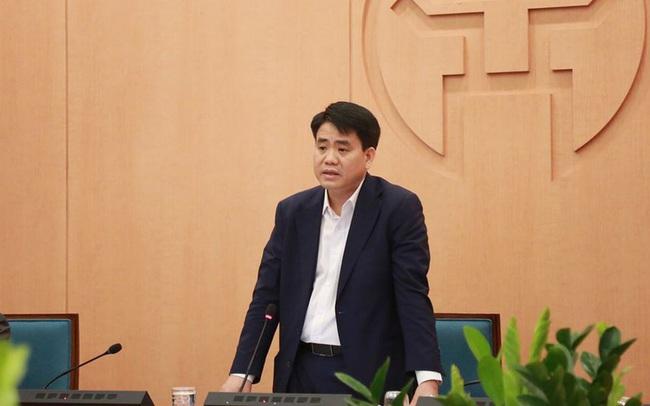 Khởi tố, bắt giam Chủ tịch UBND TP Hà Nội Nguyễn Đức Chung